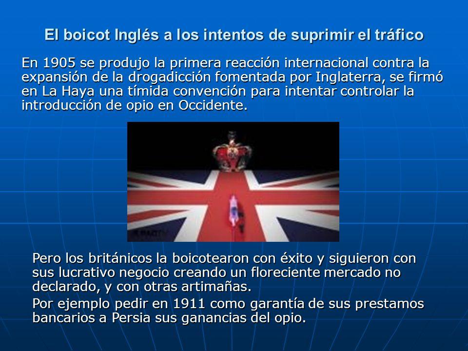 El boicot Inglés a los intentos de suprimir el tráfico