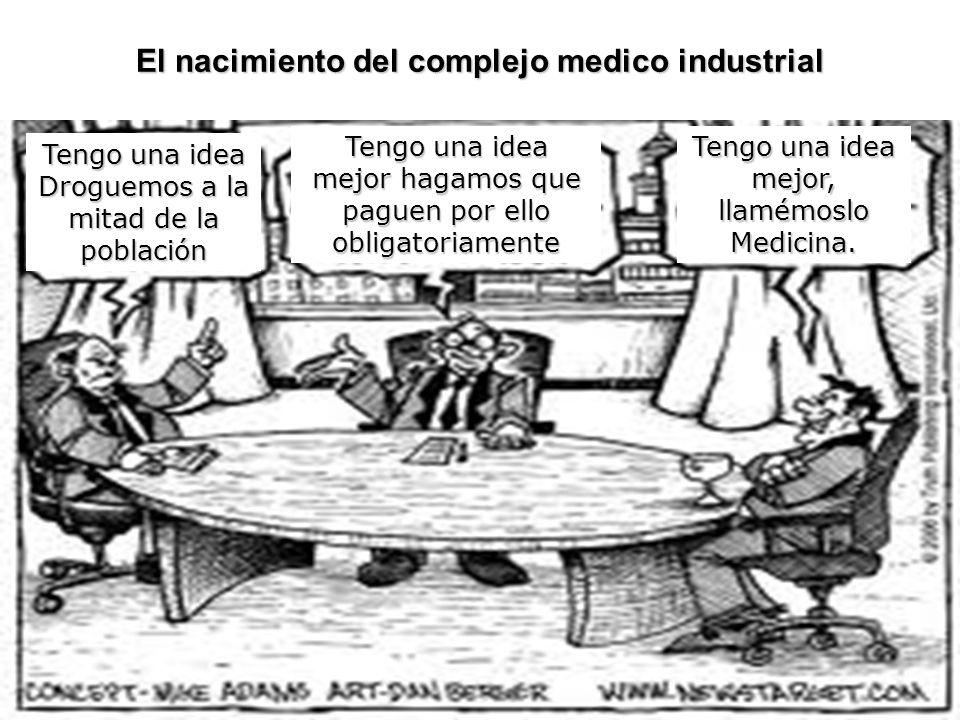 El nacimiento del complejo medico industrial