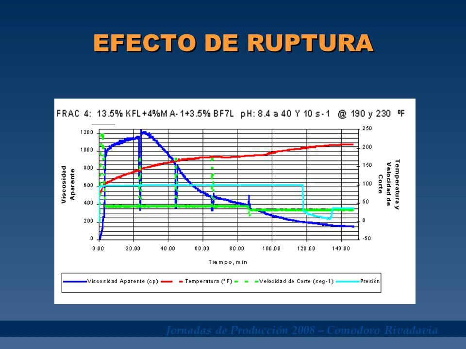 EFECTO DE RUPTURA Jornadas de Producción 2008 – Comodoro Rivadavia