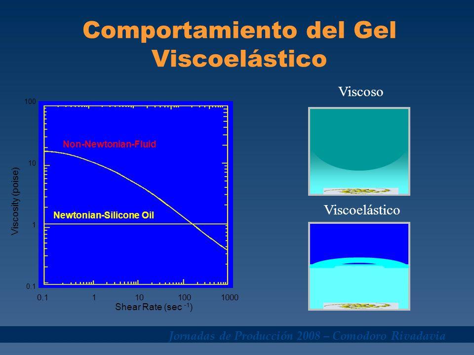 Comportamiento del Gel Viscoelástico