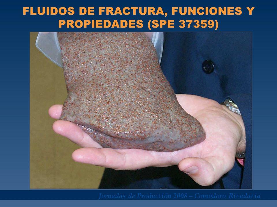 FLUIDOS DE FRACTURA, FUNCIONES Y PROPIEDADES (SPE 37359)