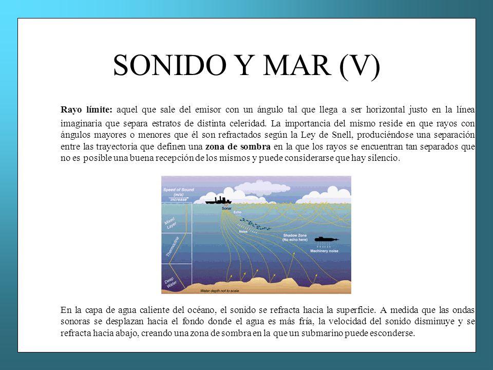 SONIDO Y MAR (V)