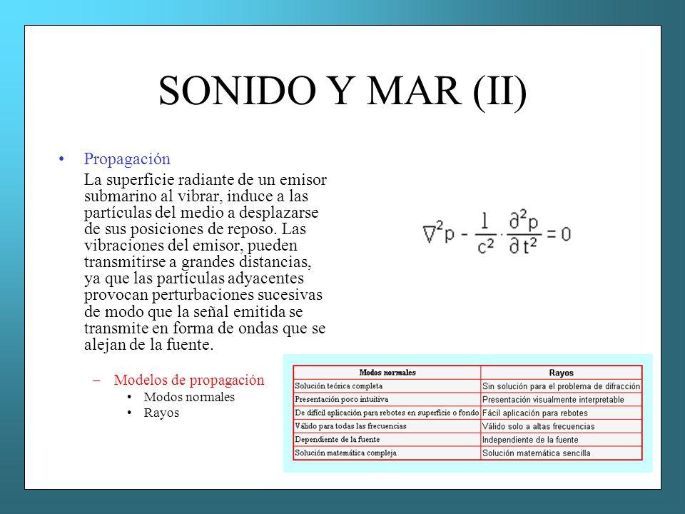 SONIDO Y MAR (II) Propagación