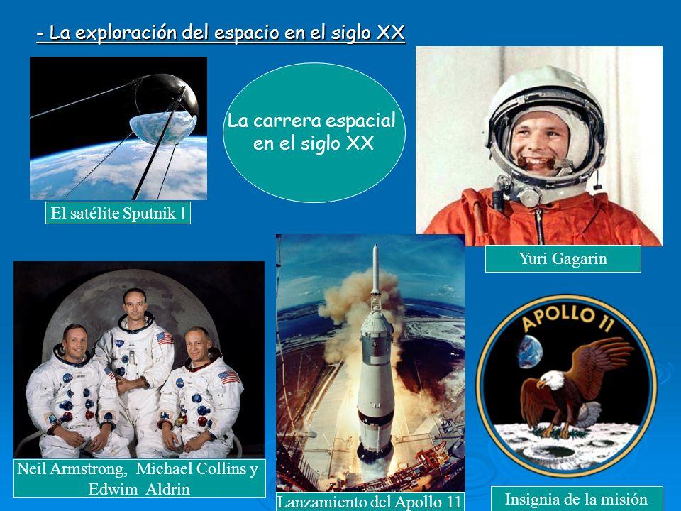 - La exploración del espacio en el siglo XX