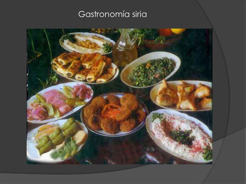 Gastronomía siria