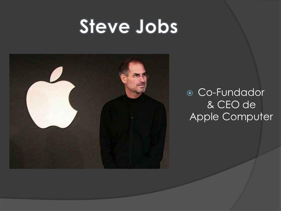 Co-Fundador & CEO de Apple Computer