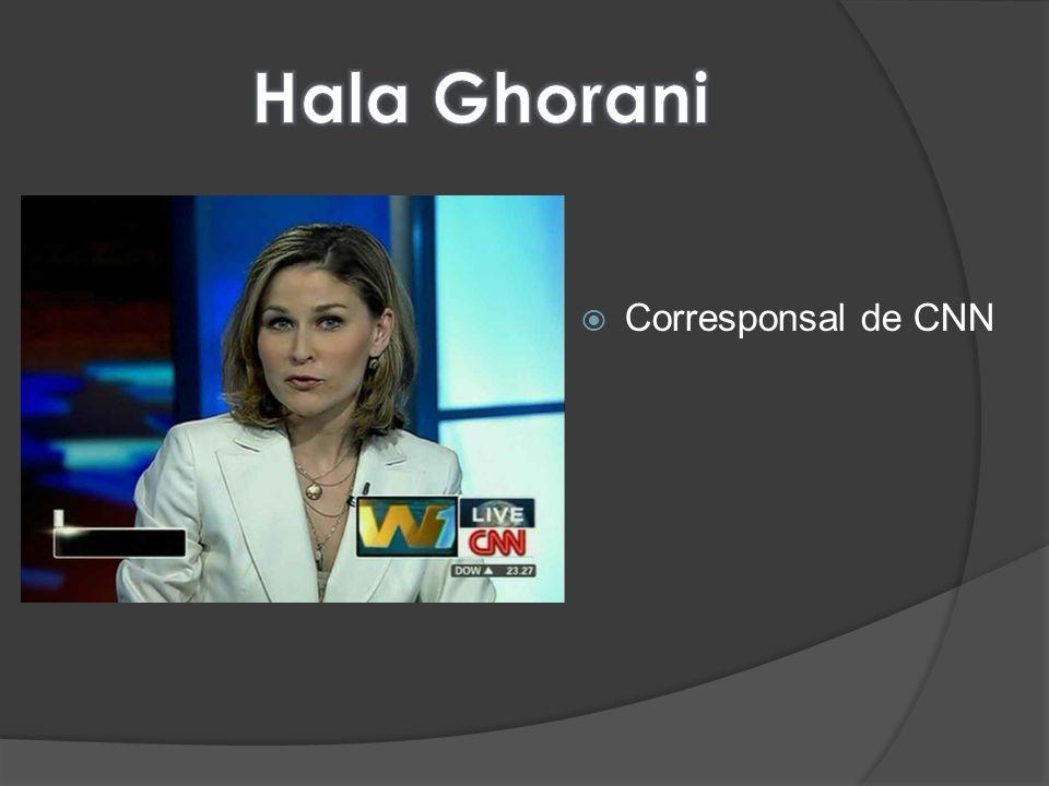 Hala Ghorani Corresponsal de CNN