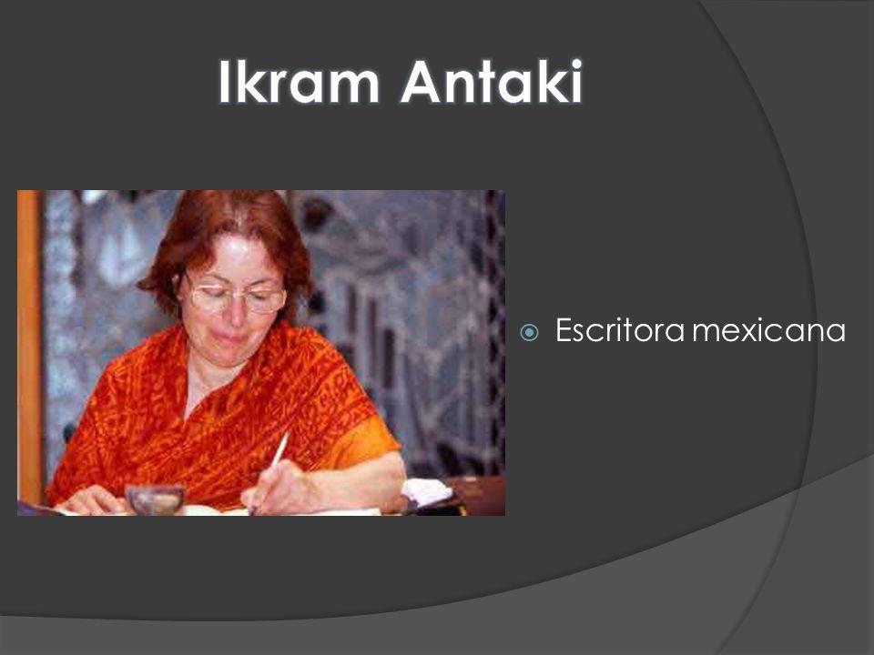 Ikram Antaki Escritora mexicana
