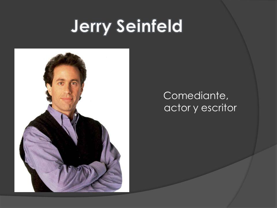 Comediante, actor y escritor