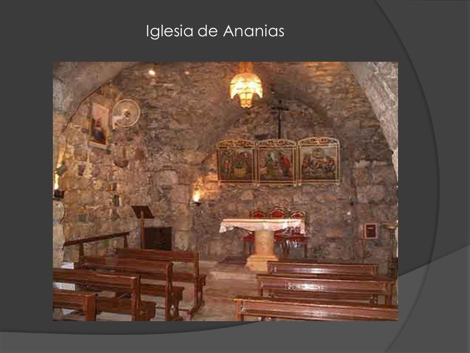 Iglesia de Ananias