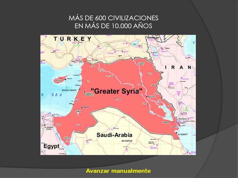 MÁS DE 600 CIVILIZACIONES EN MÁS DE 10.000 AÑOS