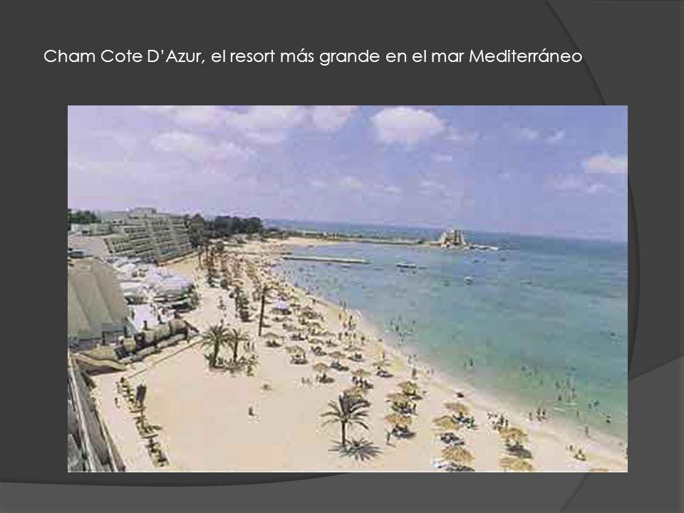 Cham Cote D'Azur, el resort más grande en el mar Mediterráneo