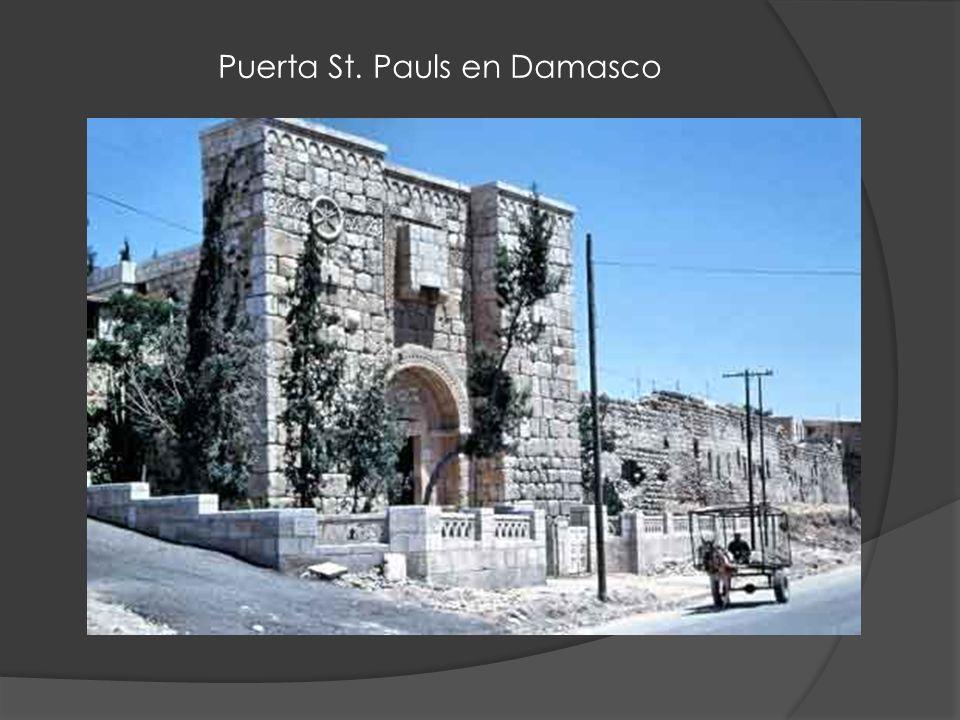 Puerta St. Pauls en Damasco