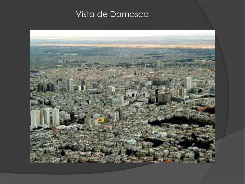 Vista de Damasco