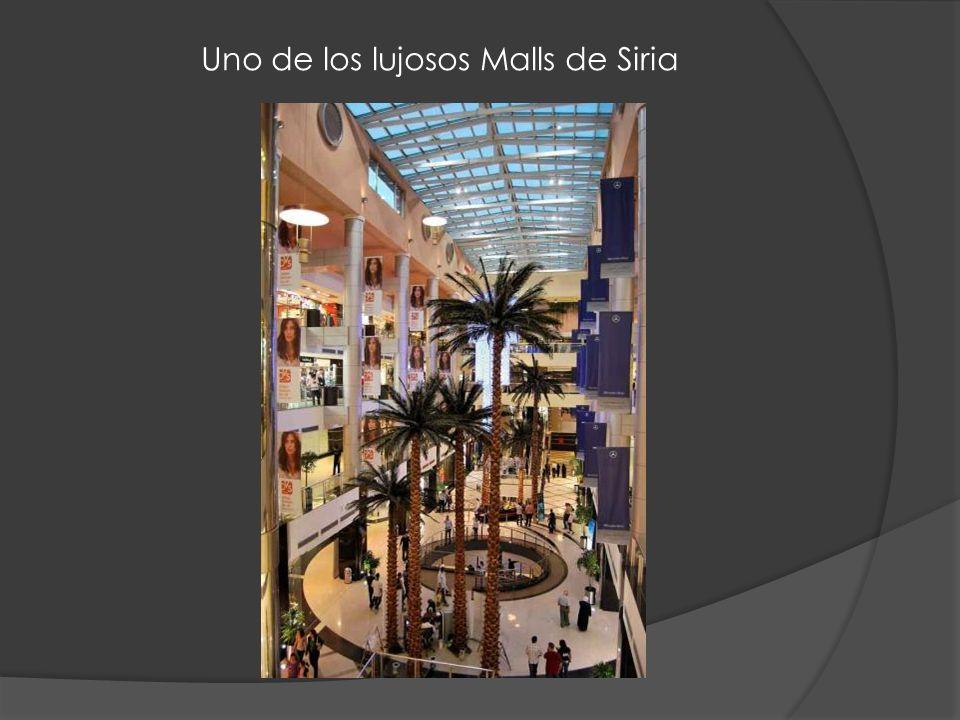 Uno de los lujosos Malls de Siria