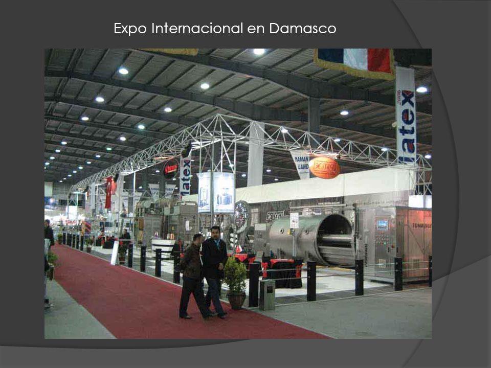 Expo Internacional en Damasco