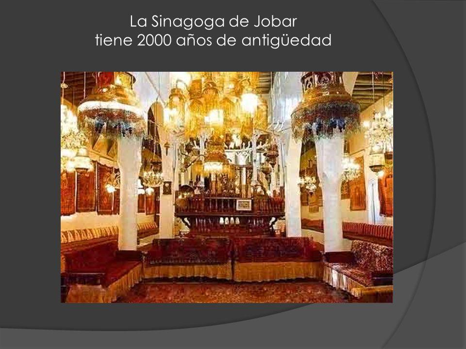 La Sinagoga de Jobar tiene 2000 años de antigüedad