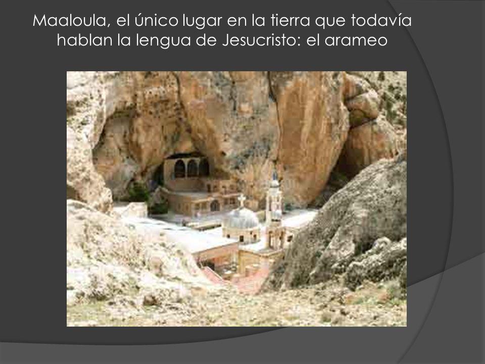 Maaloula, el único lugar en la tierra que todavía hablan la lengua de Jesucristo: el arameo