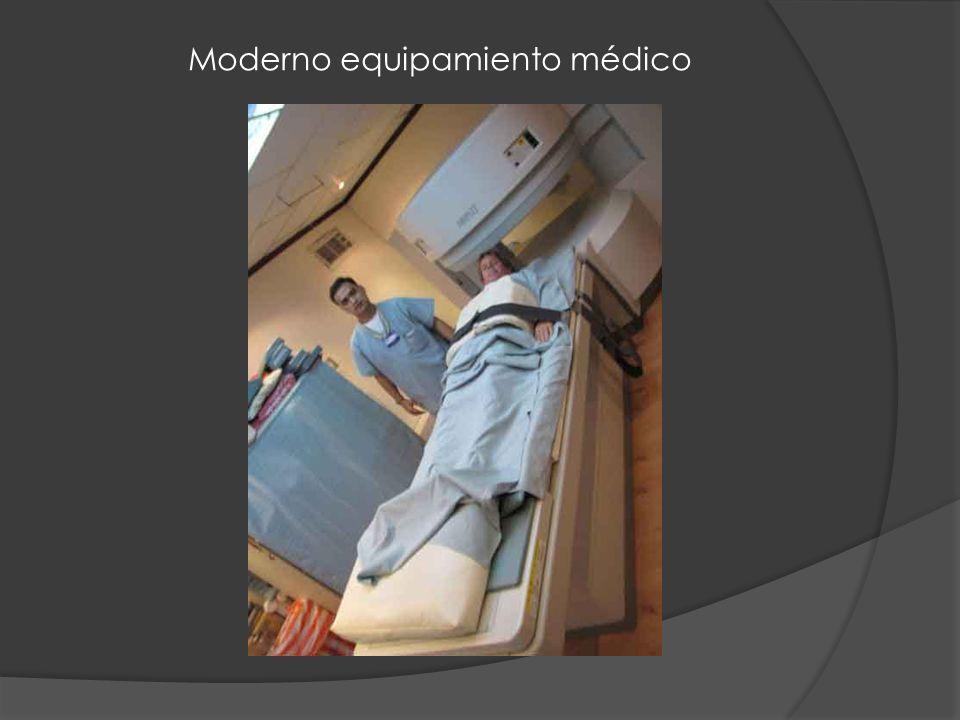 Moderno equipamiento médico