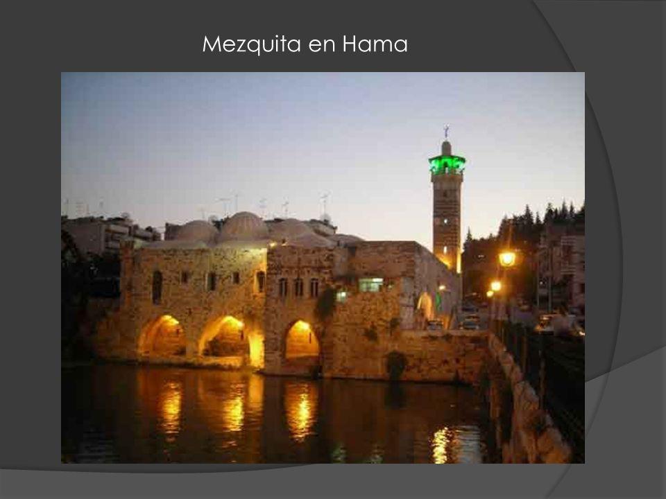 Mezquita en Hama
