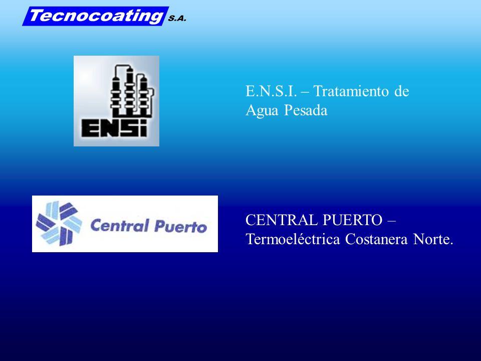 E.N.S.I. – Tratamiento de Agua Pesada