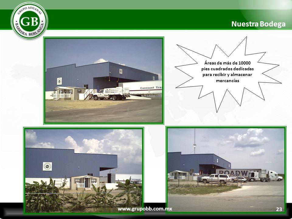 Nuestra Bodega www.grupobb.com.mx 23