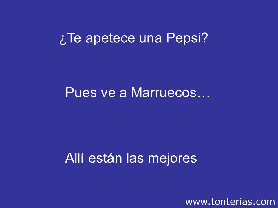 ¿Te apetece una Pepsi Pues ve a Marruecos… Allí están las mejores