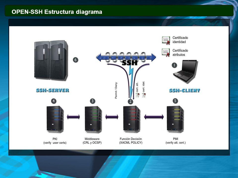 13131313 OPEN-SSH Estructura diagrama