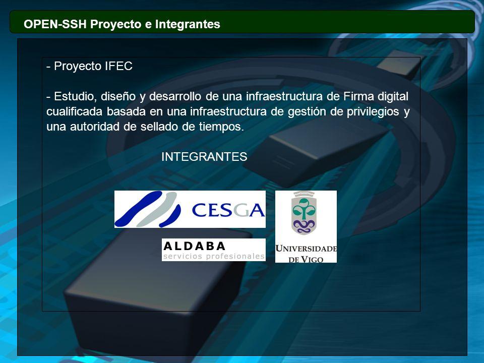 OPEN-SSH Proyecto e Integrantes