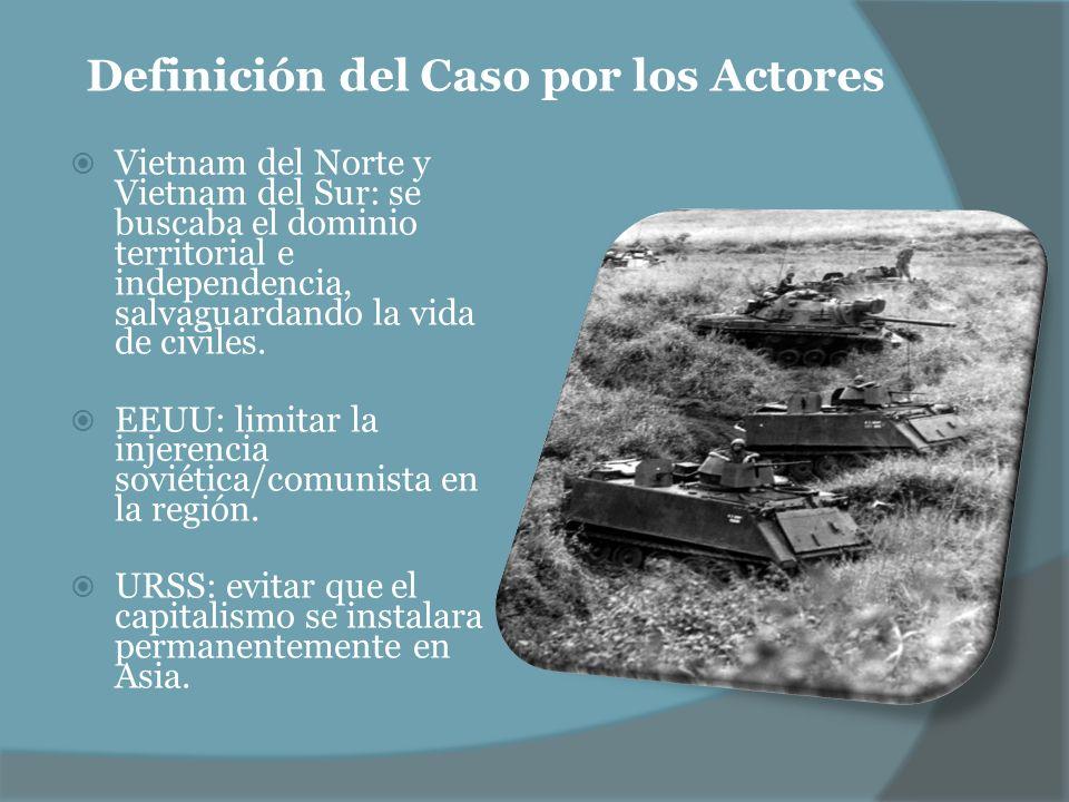 Definición del Caso por los Actores