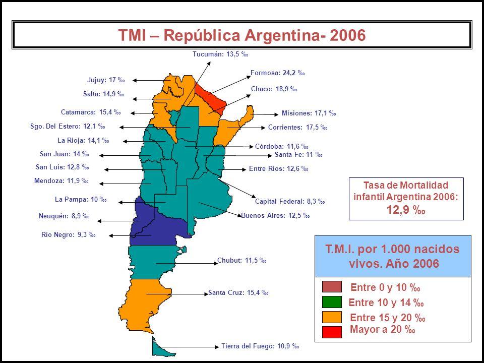 TMI – República Argentina- 2006 TMI – República Argentina- 2006