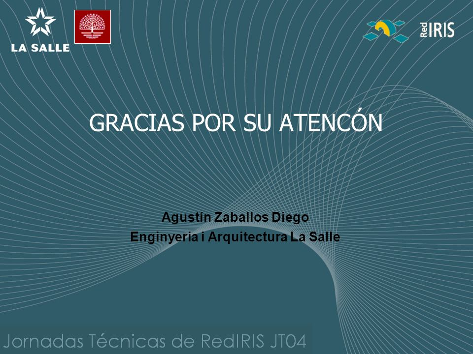 Agustín Zaballos Diego Enginyeria i Arquitectura La Salle