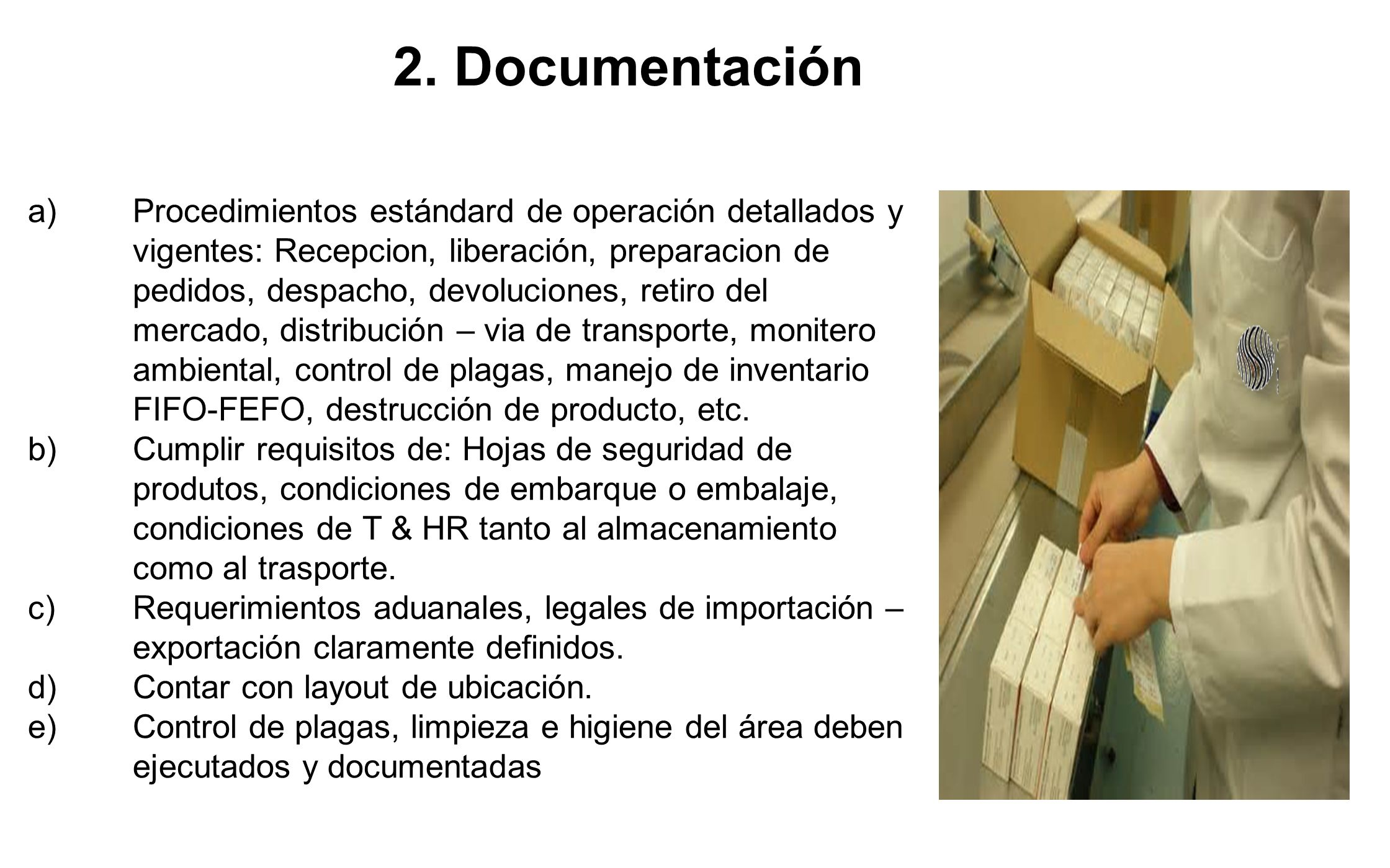 2. Documentación