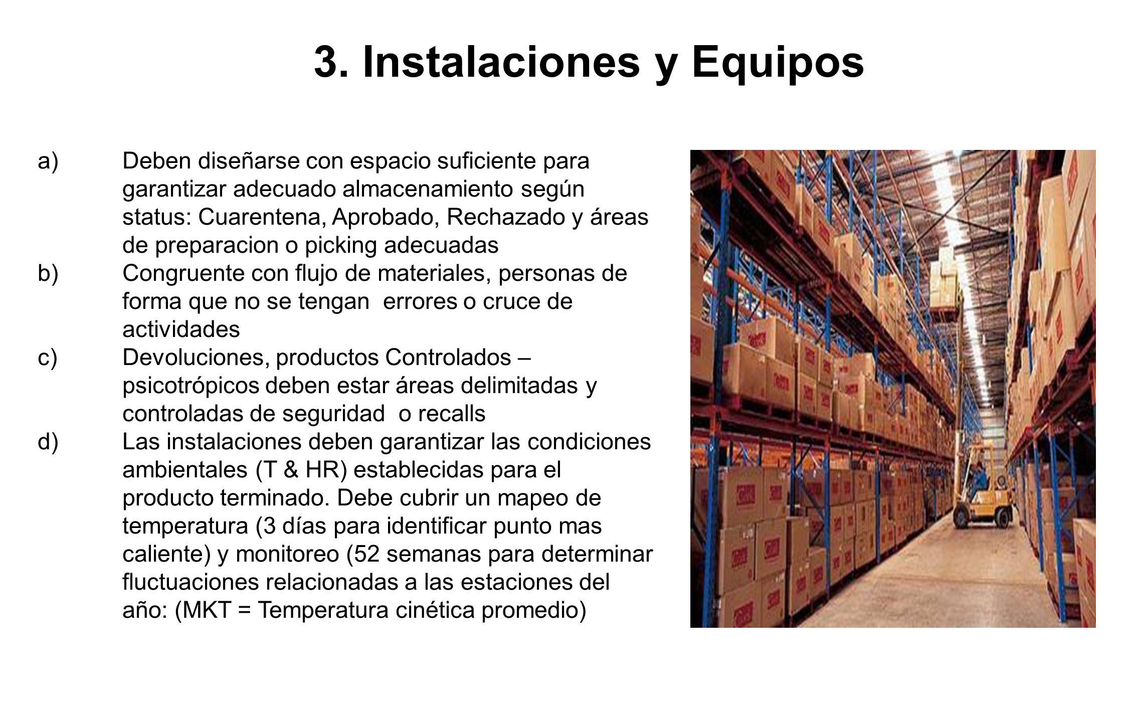 3. Instalaciones y Equipos