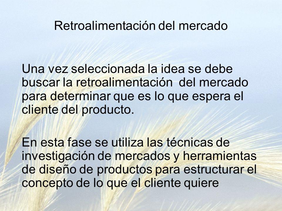 Retroalimentación del mercado