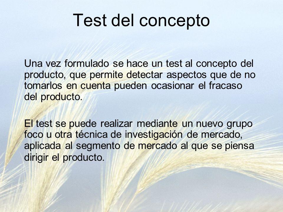 Test del concepto