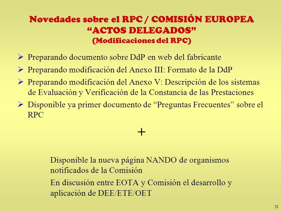 RPC / Desarrollos nacionales