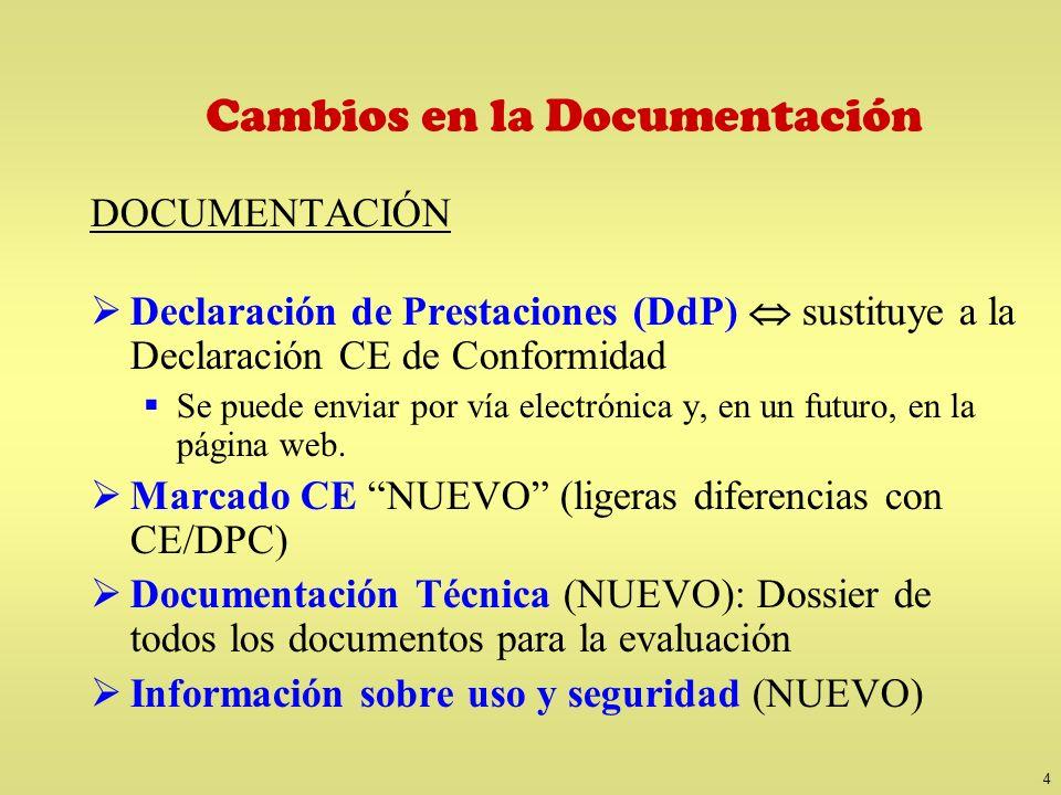 Declaración de Prestaciones