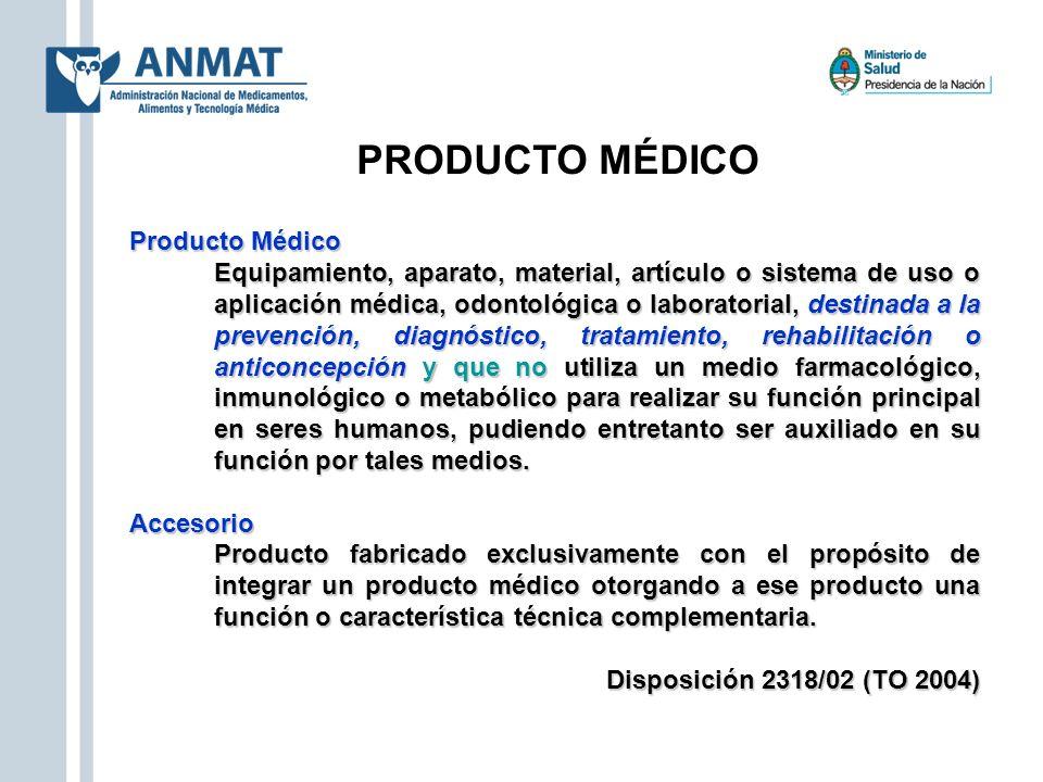 PRODUCTO MÉDICO Producto Médico