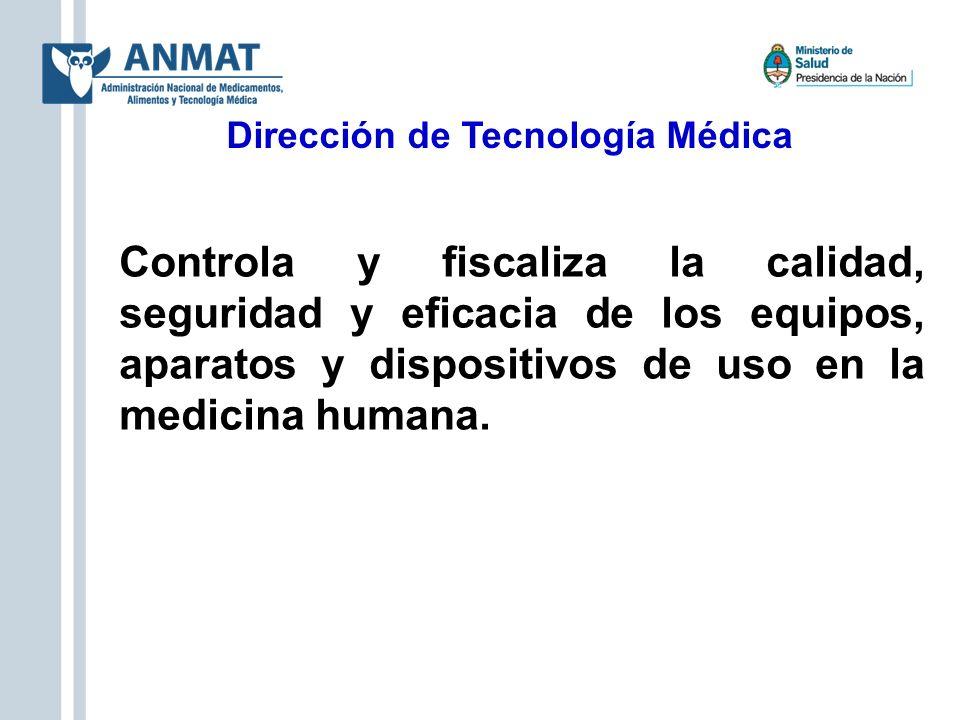 Dirección de Tecnología Médica