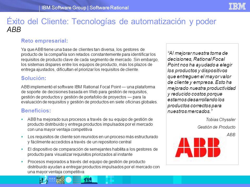 Éxito del Cliente: Tecnologías de automatización y poder ABB