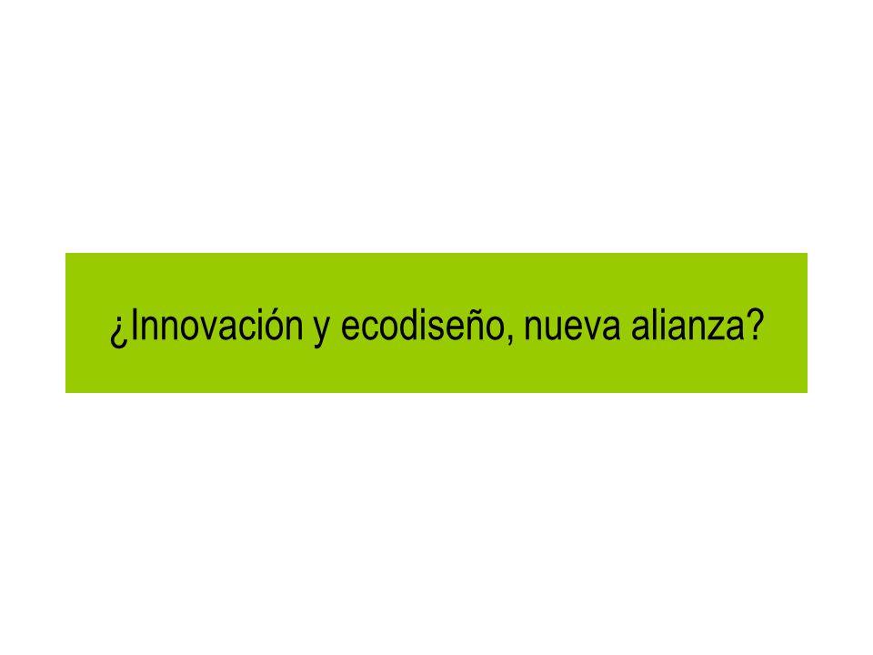 ¿Innovación y ecodiseño, nueva alianza