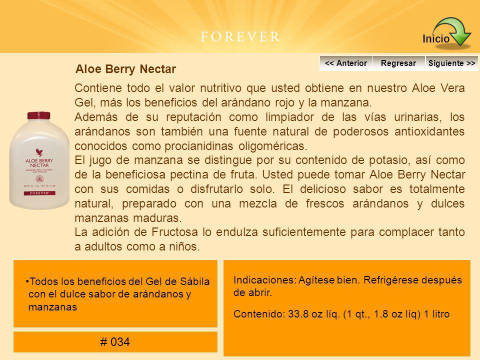 Inicio Aloe Berry Nectar