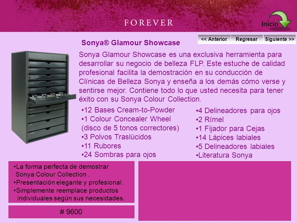 Sonya® Glamour Showcase