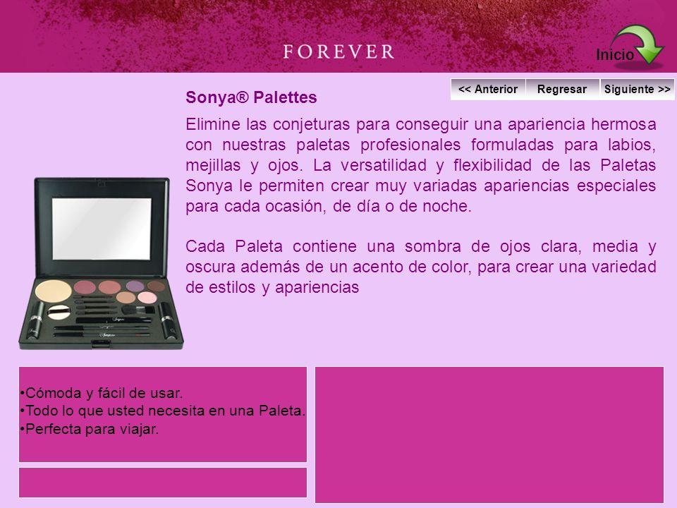 Inicio Sonya® Palettes