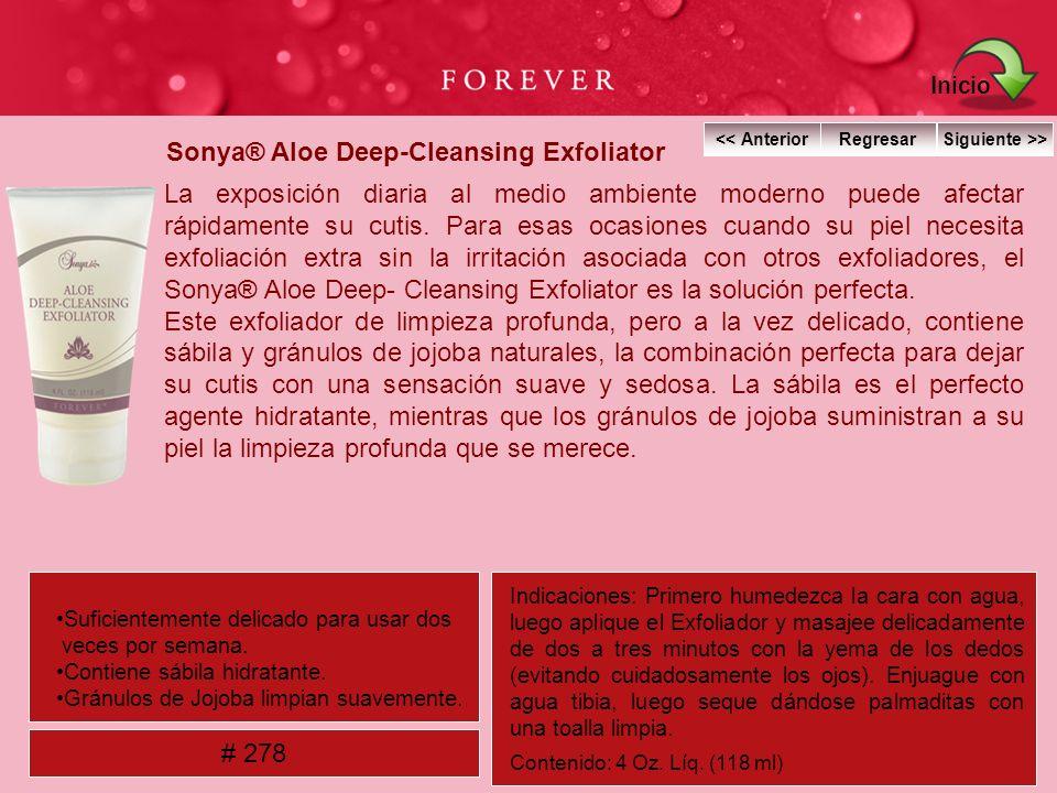 Sonya® Aloe Deep-Cleansing Exfoliator