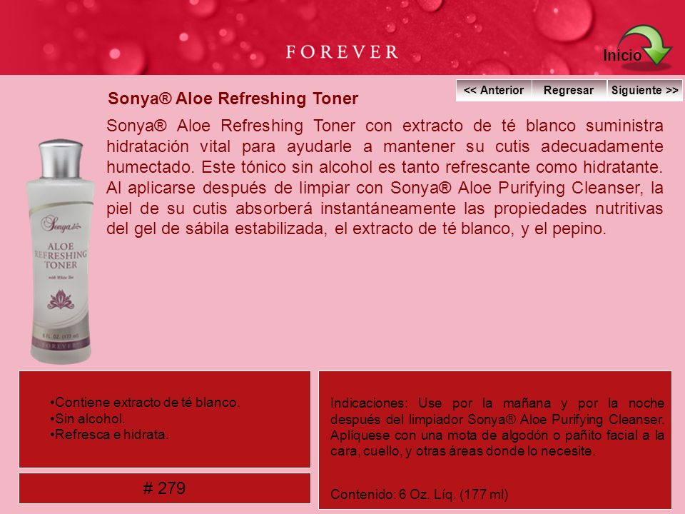 Sonya® Aloe Refreshing Toner