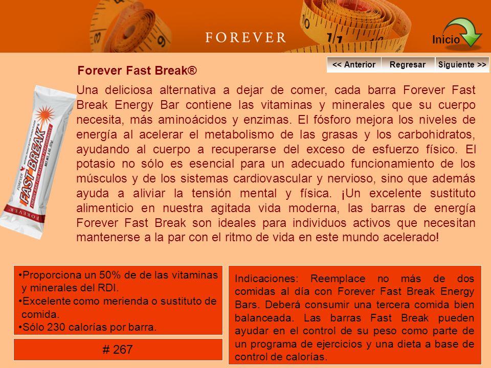 Inicio Forever Fast Break®