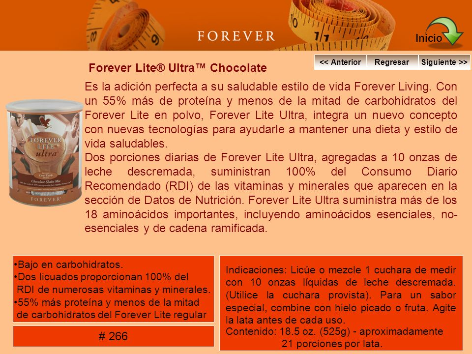 Forever Lite® Ultra™ Chocolate