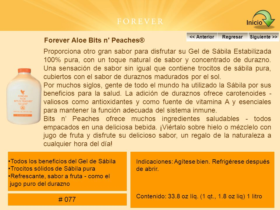 Forever Aloe Bits n Peaches®